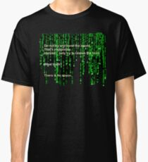 The Matrix: There is no spoon Classic T-Shirt