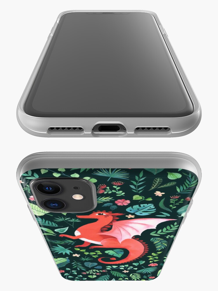 Alternate view of Tropical Dragon iPhone Case & Cover