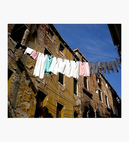 Laundry Line Photographic Print