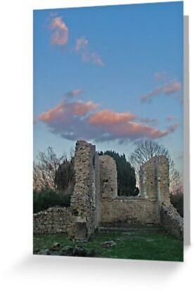 St Marys in ruins by Kim Slater