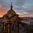 Saint Petersburg Sunset by opheliaautumn