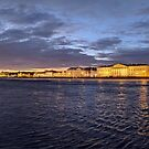 Twilight Panorama on the Neva by opheliaautumn
