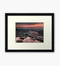 Ballintoy Harbour Sunset | Irish Landscapes | Pictures Of Ireland Framed Print