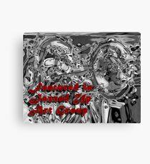 En vedette dans la bannière de Jazzed Up Art Group Impression sur toile