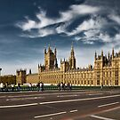 Houses Of Parliament by Frank Waechter