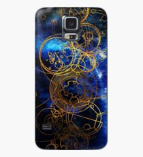 Time Lord Writing (blue) Case/Skin for Samsung Galaxy