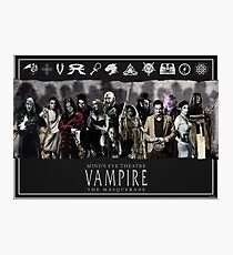 MET: Vampire The Masquerade - Black #2 Photographic Print