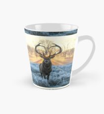 Valentines Stag, Love you deer with Heart antlers Tall Mug