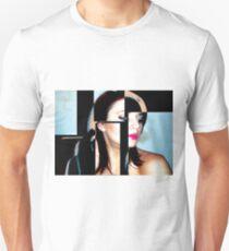 Ponder - Woman Smoking Cigarette Unisex T-Shirt
