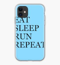 EAT SLEEP RUN REPEAT iPhone Case