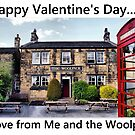 Happy Valentine's Day, Love From Me, And The Woolpack by Sandra Cockayne