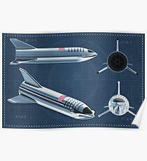 Starship Blueprint 2 Poster