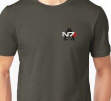 N7 Mass Effect, Alliance of the systems Unisex T-Shirt