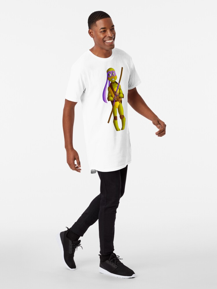 Vista alternativa de Camiseta larga Chibi Don