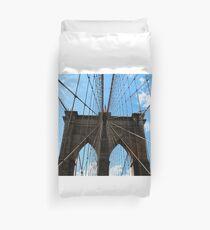 Brooklyn Bridge in June Duvet Cover