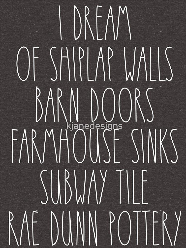 Ich träume von Shiplap Walls von kjanedesigns