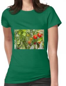 Tomatoes Womens Fitted T-Shirt