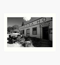 The Cardrona Hotel - New Zealand Art Print