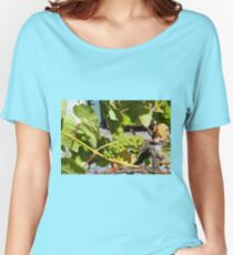 Grapes Women's Relaxed Fit T-Shirt