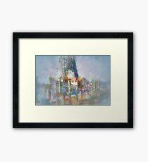 Sampit Shrimper Framed Print