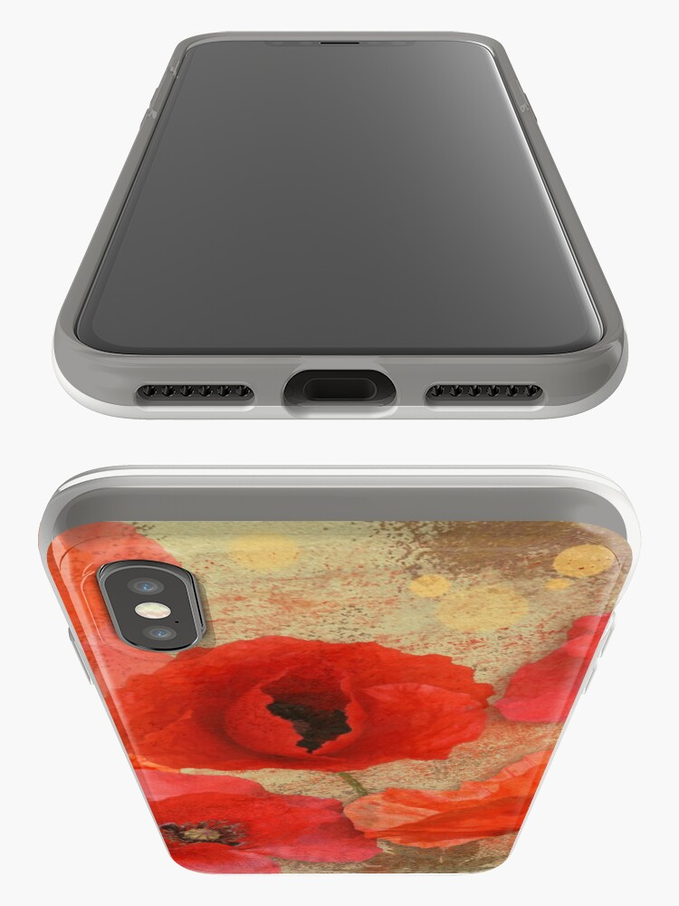 Alternate view of Red as poppies can be iPhone Case & Cover