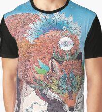 Kitsune Graphic T-Shirt