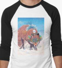 Kitsune Baseball ¾ Sleeve T-Shirt