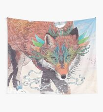 Kitsune Wall Tapestry