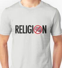 No Brains in Religion Unisex T-Shirt