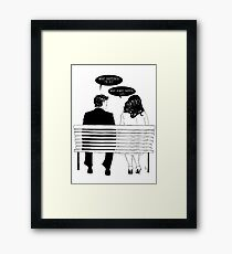 500 DAYS OF SUMMER Framed Print