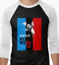Justice KONY 2012 Men's Baseball ¾ T-Shirt