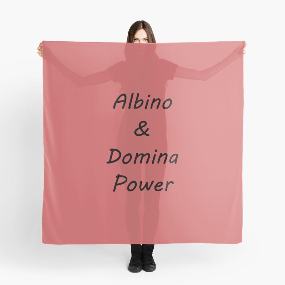 Albino and Domina Power black Scarf