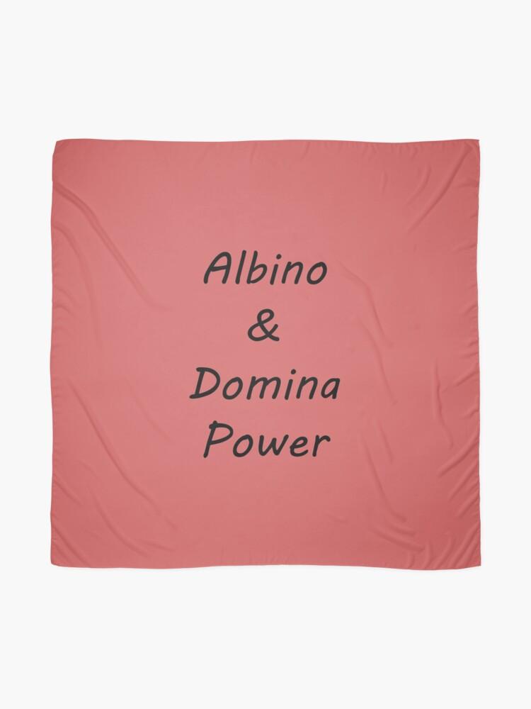 Alternate view of Albino and Domina Power black Scarf