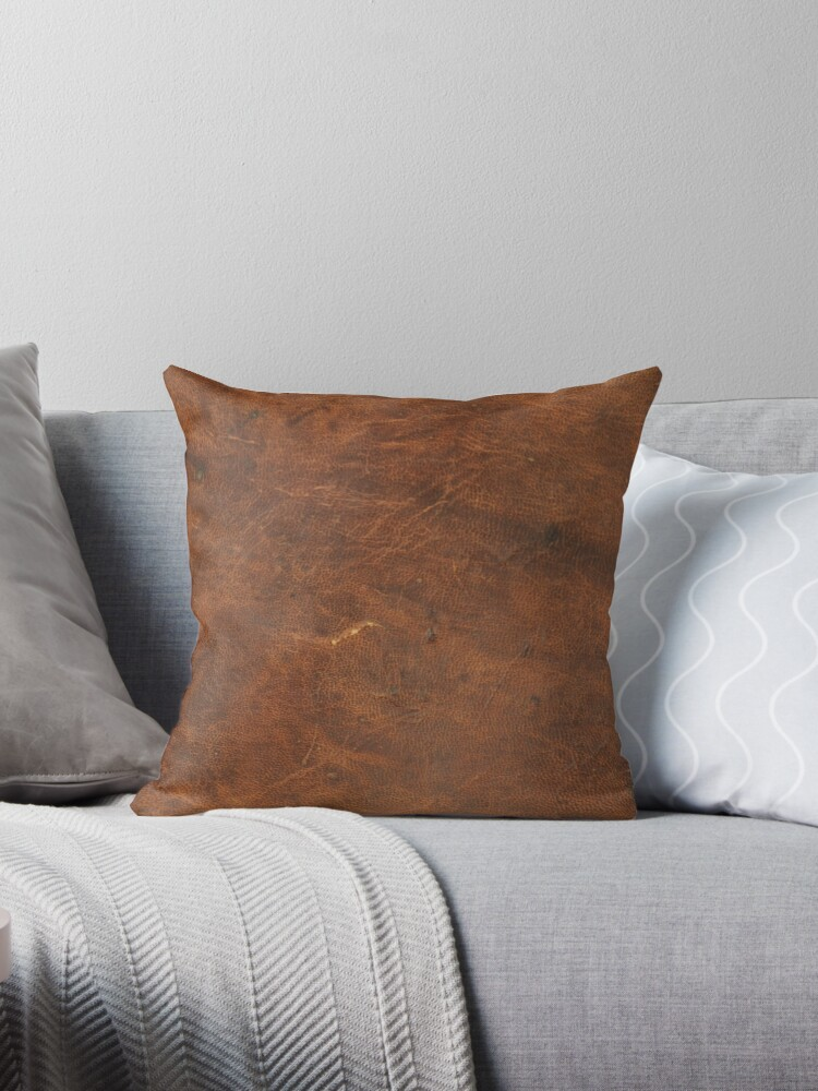 Old Tan Leather Texture   Cowhide by koovox