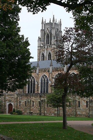 All Saints Chapel, Sewanee by Bernadette Watts