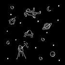 Doodle Space by Jr Astronaut