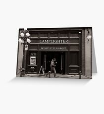 LAMPLIGHTER Greeting Card