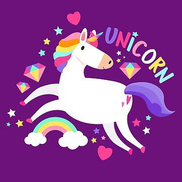 Unicorn Fancy by machmigo