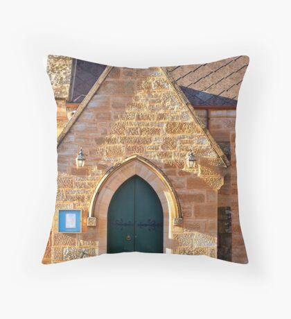 Holy Trinity Anglican Church, Dubbo Throw Pillow