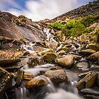 Slate Quarry River by DafyddEm