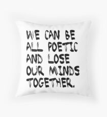 The Last Of Us Quote Throw Pillow