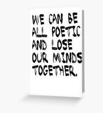 Tarjeta de felicitación The Last Of Us Quote