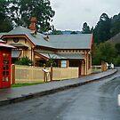 Walhalla Post Office by Joe Mortelliti