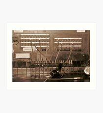 Switchboard Art Print