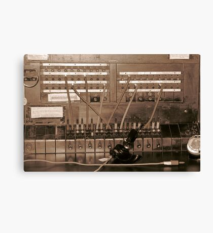 Switchboard Canvas Print