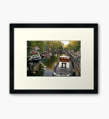 Amsterdam Tug  Framed Print