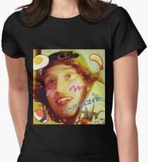 Kawaii LSD Face SKYSCRAPER Women's Fitted T-Shirt