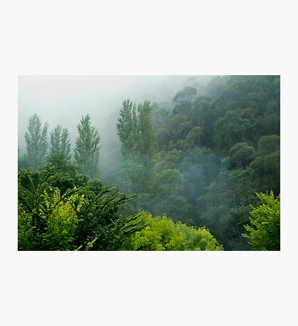 Weather Closes In, Walhalla, Gippsland Photographic Print