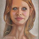 Yvonne Claire - Musical Theatre & Dance - Pastel by RodneyCleasby