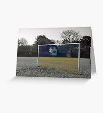 Another Goal Post Greeting Card
